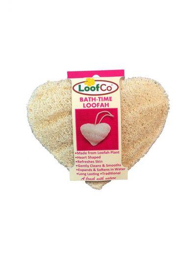 LoofCo: Esponja de luffa corporal Corazón