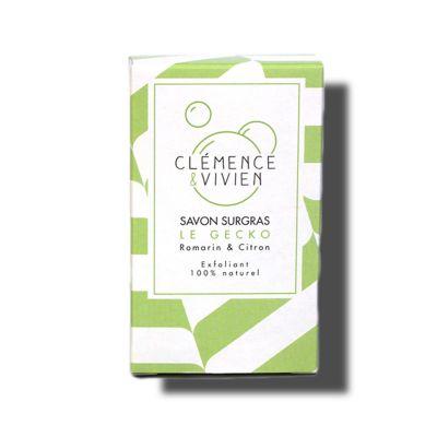 Clémence & Vivien: Jabón Purificante con Arcilla Verde y Limón