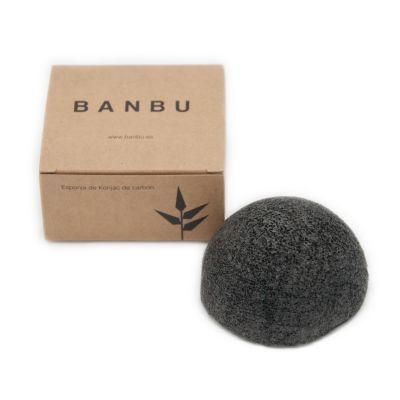 Banbu: Esponja Konjac con Carbón de Bambú