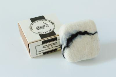 Jabón esponja Nutritivo