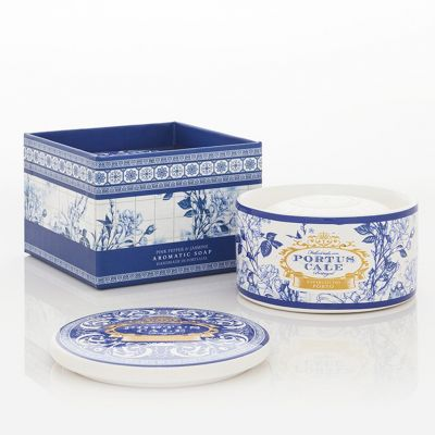 Portus Cale: Joyero de cerámica con jabón