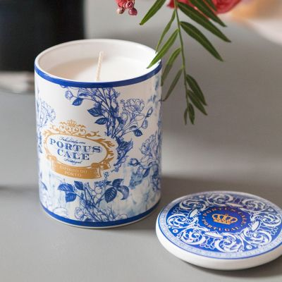 Portus Cale: Vela cerámica Gold & Blue
